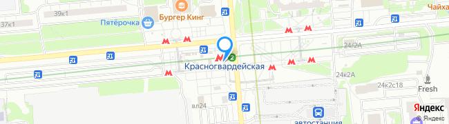 метро Красногвардейская