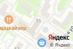 Схема проезда до компании ЕврокомГрупп в Москве