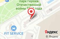 Схема проезда до компании Сервер Студия и Пи Продакшн в Москве