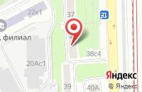 Схема проезда до компании Лазана в Москве