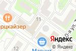 Схема проезда до компании Эй Си Ви Рус в Москве