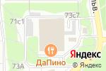Схема проезда до компании Роз-маркет в Москве
