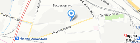 Станкоагрегат на карте Москвы