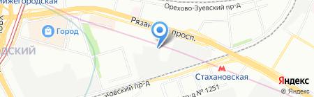 Мир паркета на карте Москвы