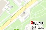 Схема проезда до компании РосТехПроект в Москве