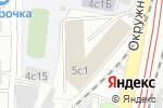 Схема проезда до компании Технологический центр ТЕНА в Москве