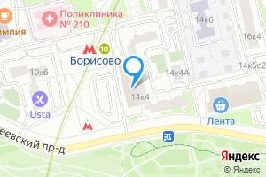 Сдается однокомнатная квартира в Москве м. Борисово, улица Борисовские пруды, 14к4