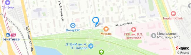 улица Шкулёва
