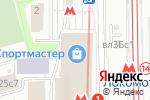 Схема проезда до компании Мосцветторг в Москве