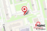 Схема проезда до компании Снабжение в Домодедово