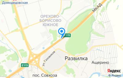 Местоположение на карте пункта техосмотра по адресу Московская обл, Ленинский р-н, п Развилка, км МКАД 23