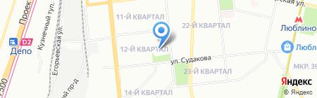 Гарант-Авто на карте Москвы