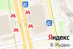 Схема проезда до компании Магазин профессиональной косметики для волос в Москве