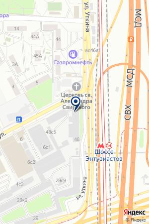 ЗАВОД ПО ПРОИЗВОДСТВУ ЭЛЕКТРООБОРУДОВАНИЯ ЭЛЕКТРОПРИВОД на карте Москвы