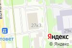Схема проезда до компании Бель в Москве