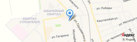 Городское финансовое управление на карте Авдеевки