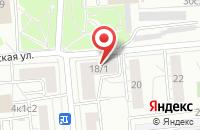 Схема проезда до компании Специнжстрой в Москве