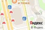 Схема проезда до компании Burger King в Москве