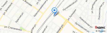 Рандеву на карте Донецка