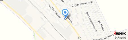 Авдеевский РОЭ на карте Авдеевки