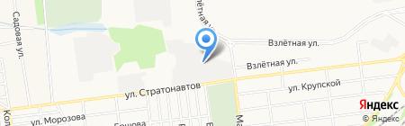 Уютный дом на карте Донецка