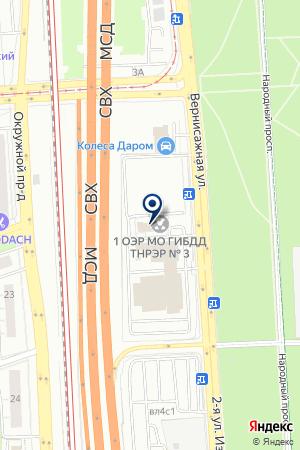 МОГИБДДТНЭР №3 на карте Москвы