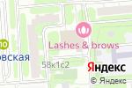 Схема проезда до компании Бегунок в Москве