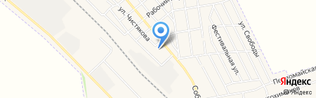 Авдеевская общеобразовательная школа I-II ступеней №3 на карте Авдеевки