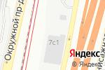 Схема проезда до компании Лаборатория диагностики и ремонта автомобилей в Москве