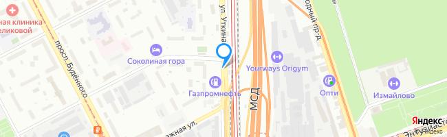 улица Уткина