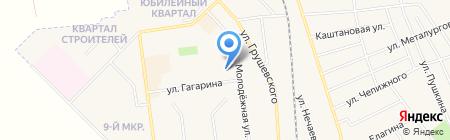 Кондитерский цех на ул. Гагарина на карте Авдеевки