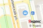 Схема проезда до компании Ариадна в Москве