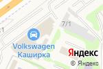 Схема проезда до компании Сити-Каширка в Москве