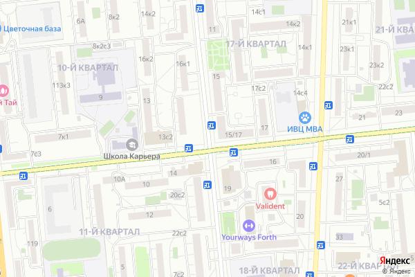 Ремонт телевизоров 40 лет Октября проспект на яндекс карте