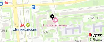 Poood.ru на карте Москвы