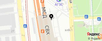 Link2Car на карте Москвы