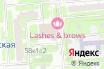 Схема проезда до компании Summoda в Москве