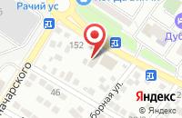 Схема проезда до компании АНТЕННЫ+ в Новороссийске