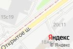 Схема проезда до компании Original Global Bakery в Москве