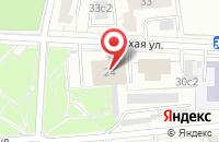 Схема проезда до компании Радуга Здоровья в Москве
