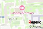 Схема проезда до компании Автошкола на Шипиловской в Москве