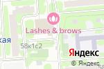 Схема проезда до компании Мир Самбо в Москве