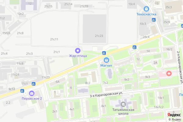 Ремонт телевизоров Перовское шоссе на яндекс карте