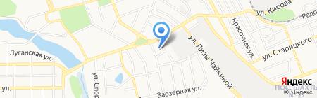 Донецкая общеобразовательная школа I-III ступеней №89 на карте Донецка