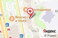 Схема проезда до компании АксисА ПРИНТ в Москве