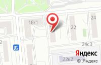 Схема проезда до компании Горизонт в Москве