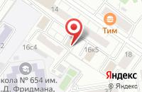 Схема проезда до компании Техникал Тес в Москве