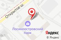 Схема проезда до компании Партнер-77 в Москве