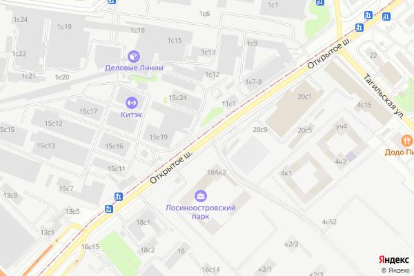 Ремонт телевизоров Открытое шоссе на яндекс карте