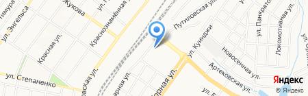 Оленька на карте Донецка